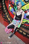 Japanese fashion-Shibuya,Tokyo,Bubbles,FRUIT OF THE LOOM,Converse,Malaica