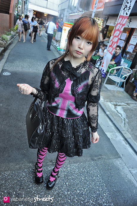 120708-1278 - Japanese street fashion in Harajuku (pebble, PENTY'S, MIHO MATSUDA, Swarovski, Doll in High Heels, Azobstract, MANLY WAVE)