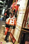 Japanese fashion-Shibuya,Tokyo,Halloween,Sexy Dynamite London,Leg Avenue,Question Mark