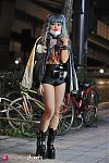 Japanese fashion-Setagaya,Tokyo,Valentine,UNIF,American Apparel,AVANTGARDE,DEMONIA