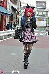 Japanese fashion-Harajuku,Tokyo,CECIL McBEE,one way,Question mark,Vivienne Westwood