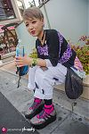 Japanese fashion-Harajuku,Tokyo,KAWI JEMALE,Flea Madonna,TOKYOBOPPER,G-SHOCK