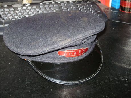 RAILWAY GUARD HAT