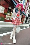 Japanese fashion-Harajuku,Tokyo,GALSTAR,HELLCATPUNKS,D&G,LIZ LISA,Putumayo,Leg Avenue,Question Mark