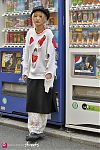 Japanese fashion-Harajuku,Tokyo,Valentine,LAND'S END,Black Means,BUBBLES