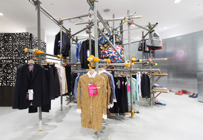 The first Dover Street Market was opened in London in 2005.