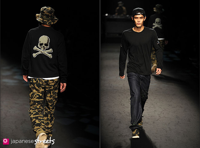 111022-4101-111022-4104: mastermind S/S 2011 Fashion Show at the Japan Fashion Week
