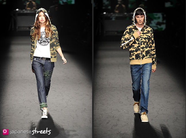 111022-4109-111022-4117: mastermind S/S 2011 Fashion Show at the Japan Fashion Week