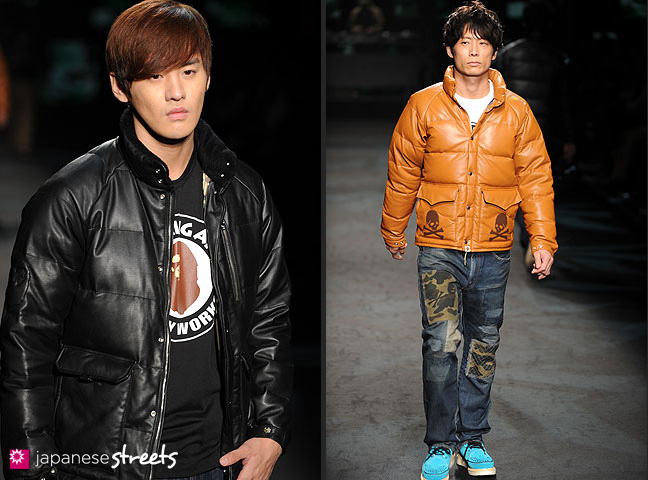111022-4138-111022-4139: mastermind S/S 2011 Fashion Show at the Japan Fashion Week