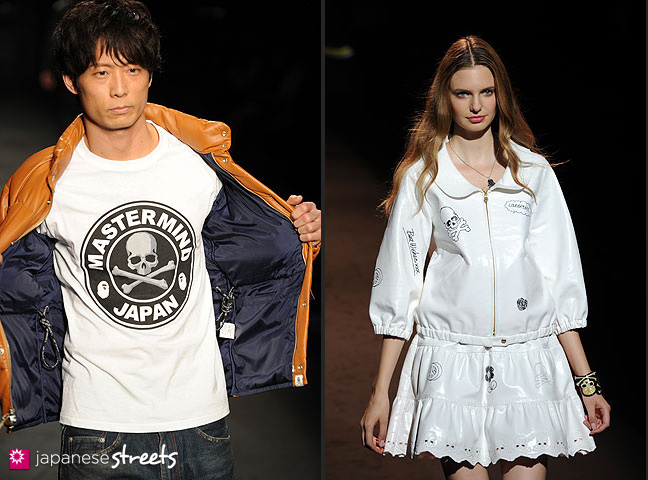 111022-4142-111022-4150: mastermind S/S 2011 Fashion Show at the Japan Fashion Week