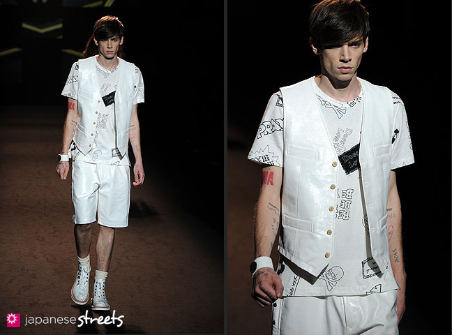 111022-4152-111022-4158: mastermind S/S 2011 Fashion Show at the Japan Fashion Week