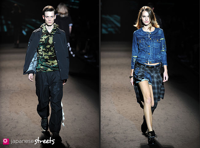 111022-4405-111022-4419: mastermind S/S 2011 Fashion Show at the Japan Fashion Week