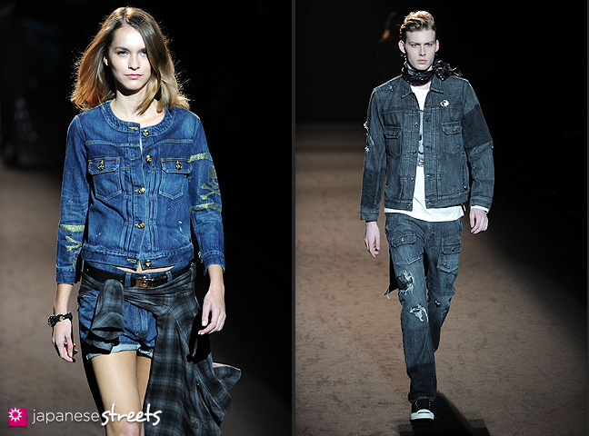 111022-4421-111022-4429: mastermind S/S 2011 Fashion Show at the Japan Fashion Week
