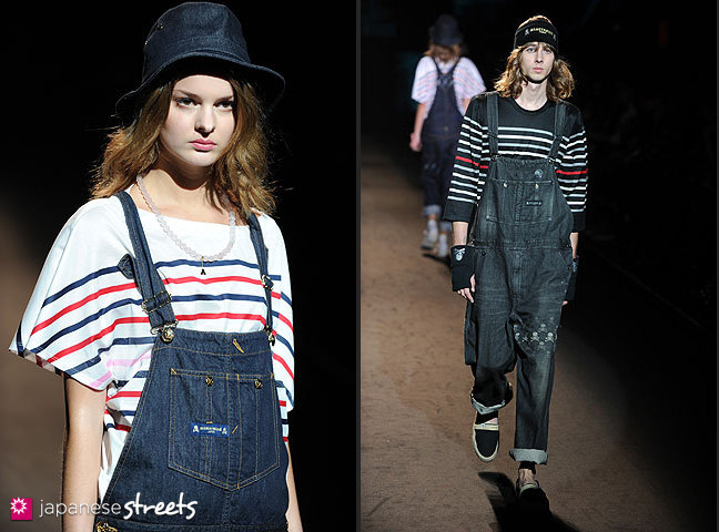 111022-4457-111022-4462: mastermind S/S 2011 Fashion Show at the Japan Fashion Week