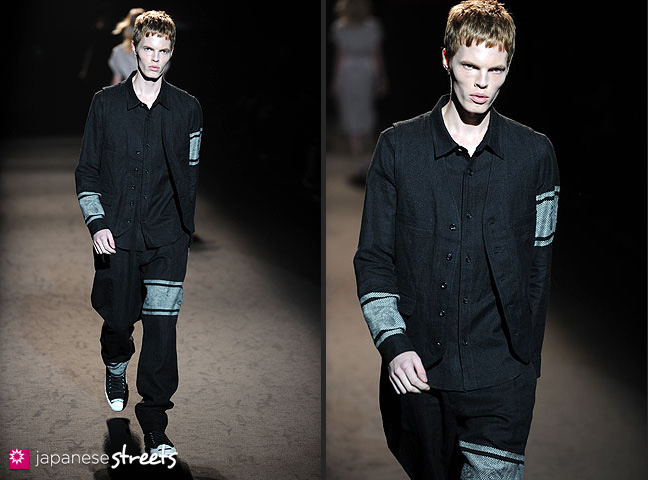 111022-4489-111022-4493: mastermind S/S 2011 Fashion Show at the Japan Fashion Week
