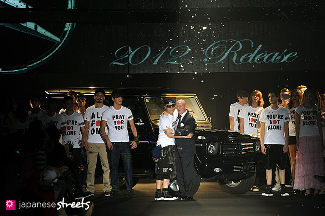 111022-4768: mastermind S/S 2011 Fashion Show at the Japan Fashion Week