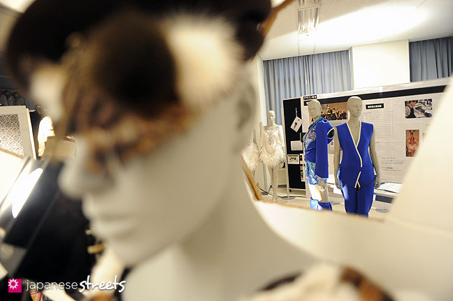 111103-5941: Display during the Culture Festival Of Bunka Fashion College