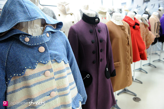 111103-5908: Fashion displays at the Culture Festival of Bunka Fashion College in Tokyo