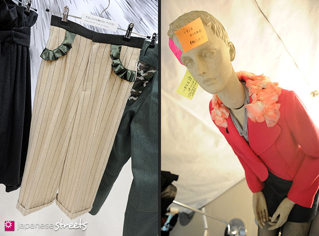 111103-5912-111103-5919: Fashion displays at the Culture Festival of Bunka Fashion College in Tokyo