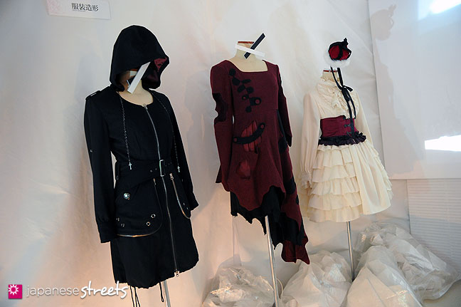 111103-5924: Fashion displays at the Culture Festival of Bunka Fashion College in Tokyo