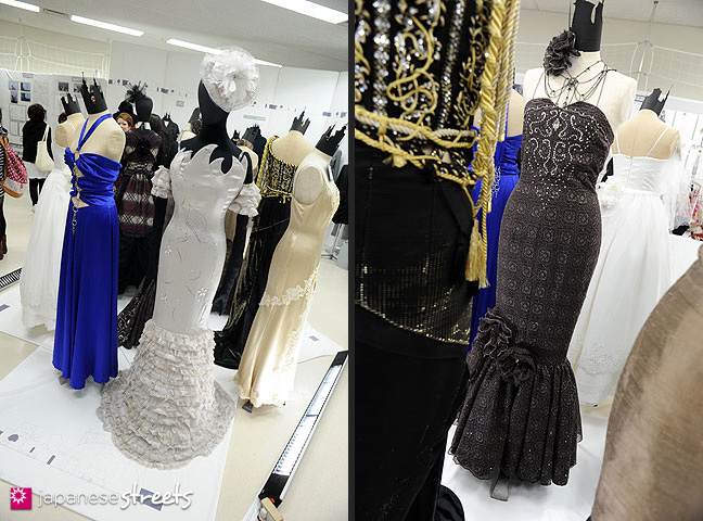 111103-5932-111103-5934: Fashion displays at the Culture Festival of Bunka Fashion College in Tokyo