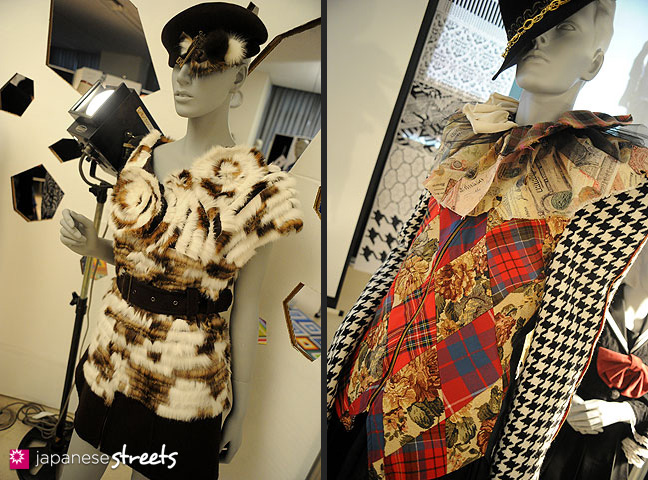 111103-5940-111103-5949: Fashion displays at the Culture Festival of Bunka Fashion College in Tokyo
