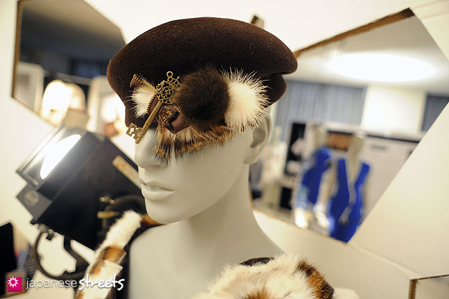 111103-5942: Fashion displays at the Culture Festival of Bunka Fashion College in Tokyo