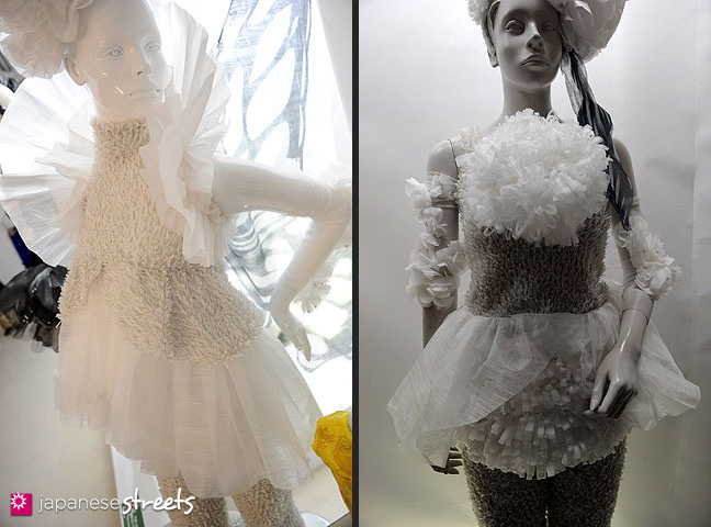 111103-5972-111103-5974: Fashion displays at the Culture Festival at Bunka Fashion College in Tokyo