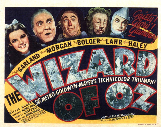 The Wizard of Oz Original Poster