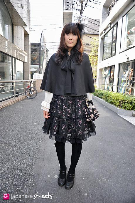 120415-0377: Japanese street fashion in Harajuku, Tokyo (Izumu, Moi-même-Moitié, Ashinaga Ojisan, Miho Matsuda)
