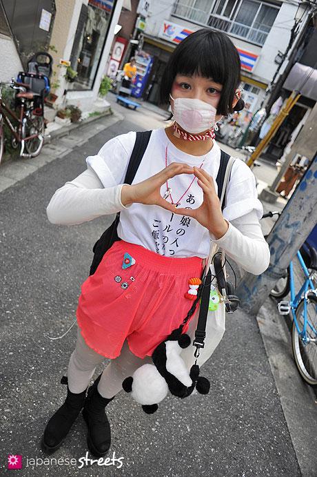 120429-1510: Japanese street fashion in Harajuku, Tokyo (anvil, Op, Tokyo Bopper, Mujirushi)