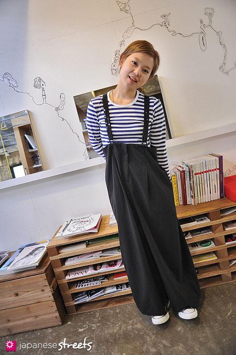 120530-6288: Japanese street fashion in Harajuku, Tokyo (LIM CODE, marimekko, NEWPORT NEWS, Converse)
