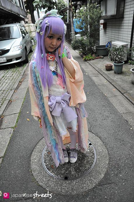 120624-9282 - Japanese street fashion in Sangenjaya, Tokyo (Angelic Pretty, Nile Perch)