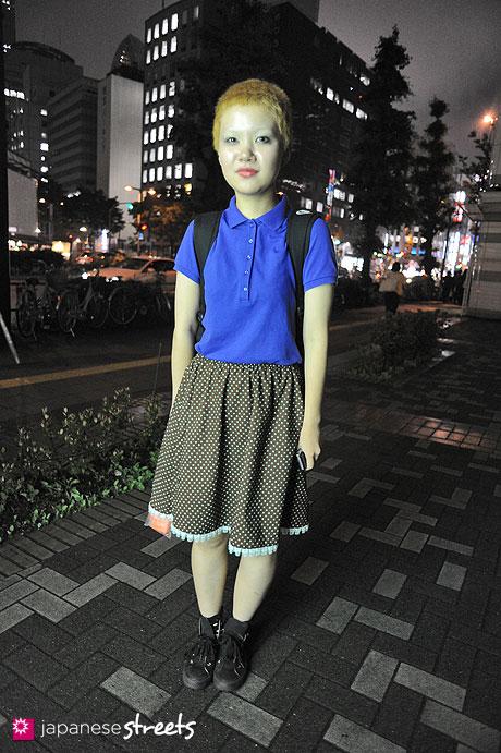 120703-0517: Japanese street fashion in Shibuya, Tokyo (NIKE)