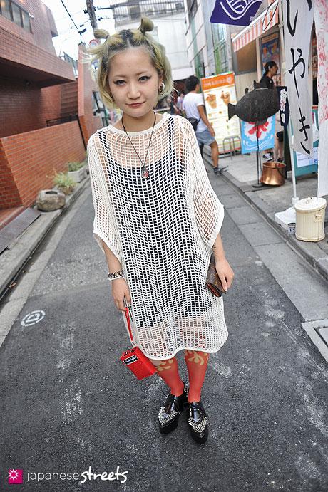 120805-7171: Japanese street fashion in Harajuku, Tokyo (Avant Garde, Ghibli, Jeffrey Campbell)