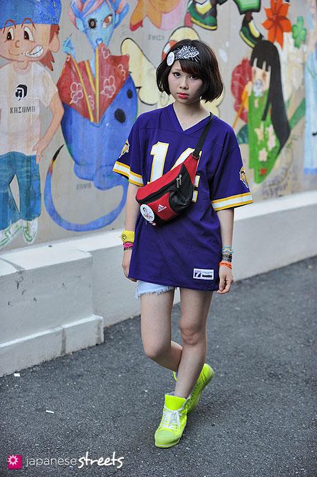 120812-9991 - Japanese street fashion in Harajuku, Tokyo (LOGO7, adidas)