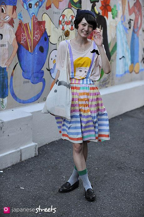 120812-0040 - Japanese street fashion in Harajuku, Tokyo (Matilde, IamI)