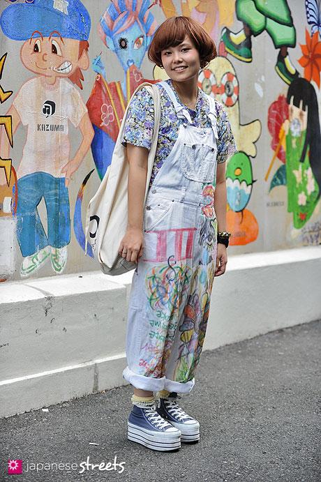 120812-0106 - Japanese street fashion in Harajuku, Tokyo (Pinkage, DUMBO, Nadia, Concierge)