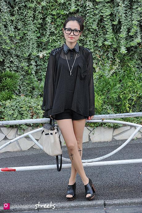 120814-0596 - Japanese street fashion in Harajuku, Tokyo (Unif, Hermes)