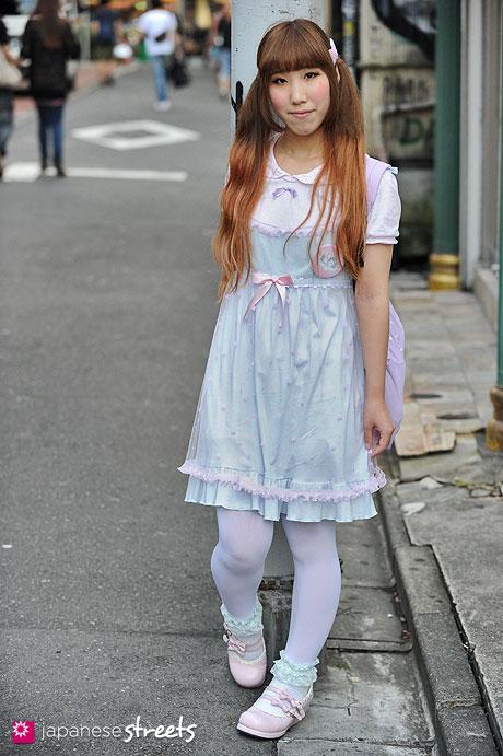 120818-1719 - Japanese street fashion in Harajuku, Tokyo (milklim, Nile Perch, FLAPPER, Bodyline)