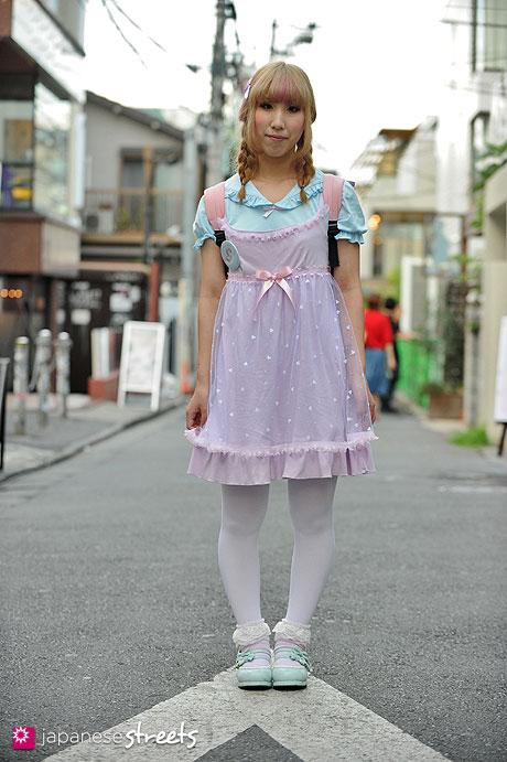 120818-1734 - Japanese street fashion in Harajuku, Tokyo (milklim, Nile Perch, FLAPPER, Bodyline)