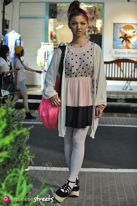 120904-5646 - Japanese street fashion in Harajuku, Tokyo (Dressy Daisy, Super Lovers, VANS, Tokyo Bopper)