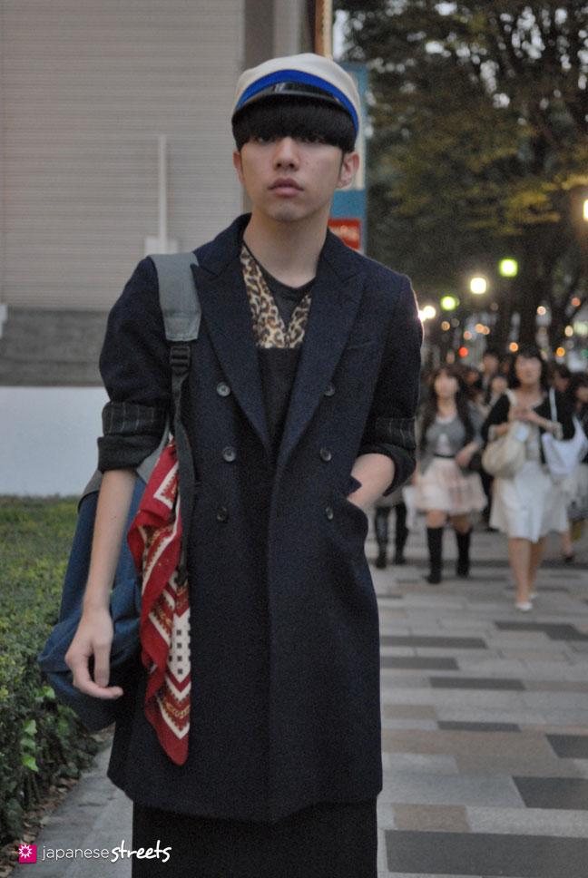 91017-8683-Japanese street fashion in Harajuku, Tokyo