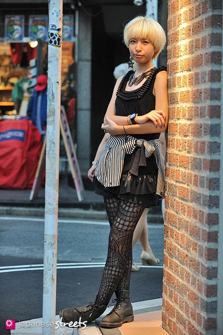 120916-9415 - Japanese street fashion in Harajuku, Tokyo (SOMARTA, Standard Journal, Vivienne Westwood, Dr.Martens)