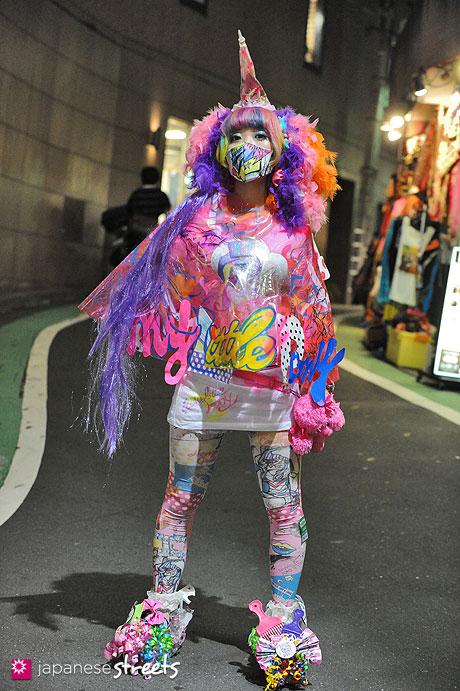121021-7377 - Japanese street fashion in Shibuya, Tokyo