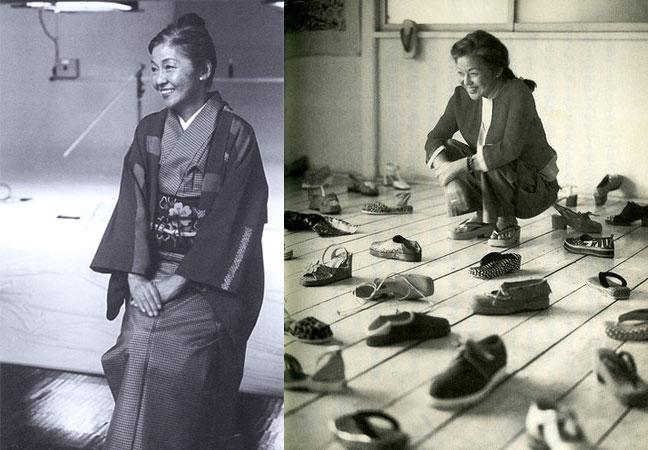 Japanese shoe designer Kisa Takada