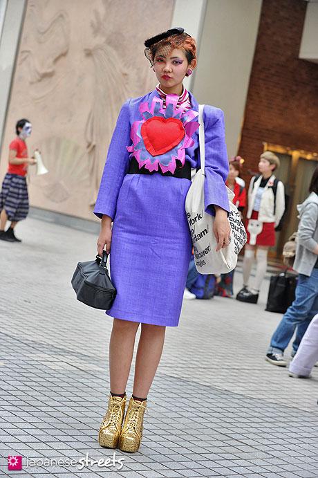 130426-2688: - Japanese street fashion in Shibuya, Tokyo