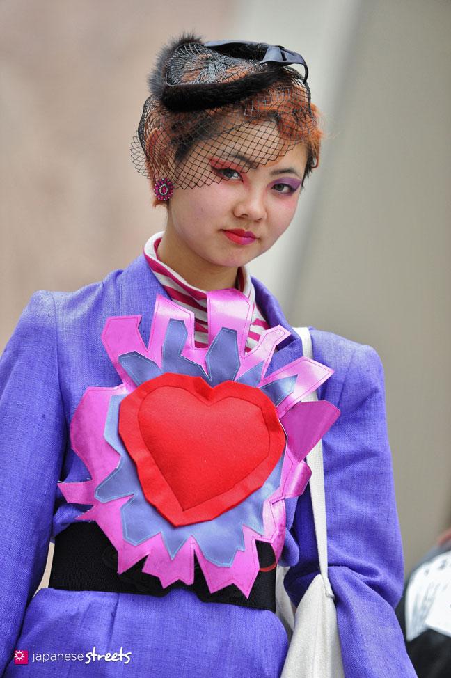130426-2703: - Japanese street fashion in Shibuya, Tokyo