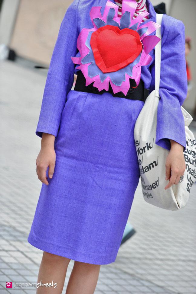 130426-2725: - Japanese street fashion in Shibuya, Tokyo