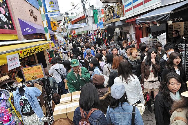 100331-9152: Takeshita-dori in Harajuku, Tokyo